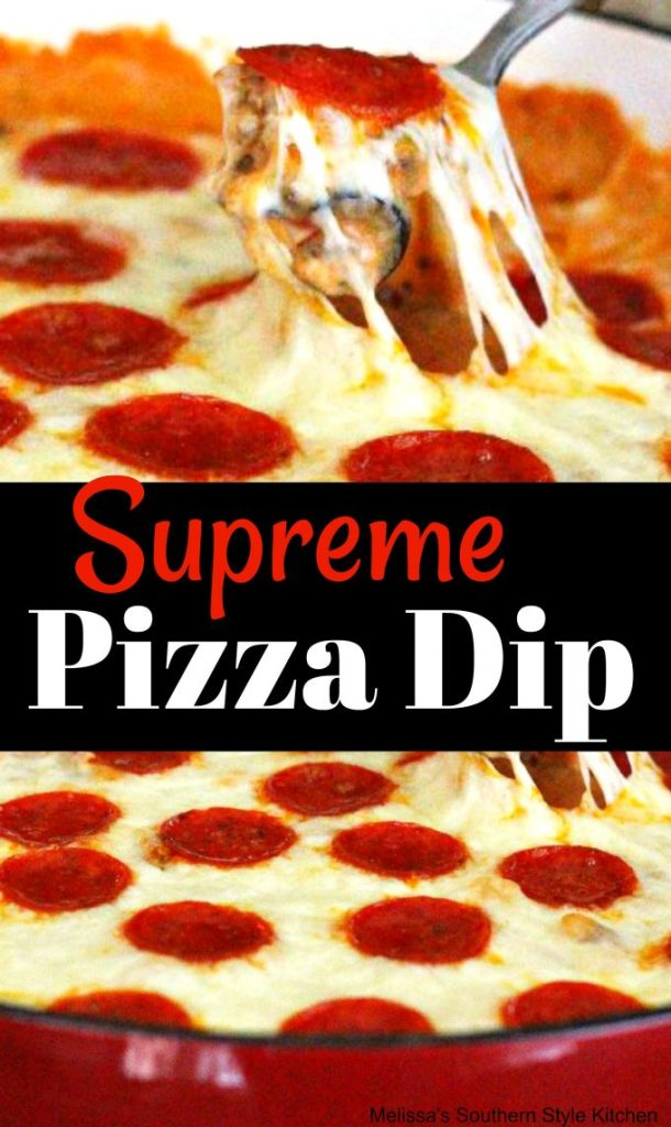 Supreme Pizza Dip