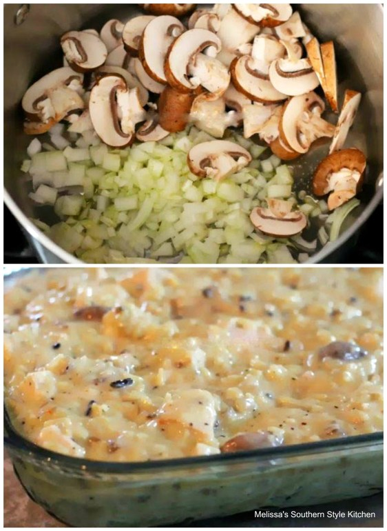 step-by-step pictures Chicken Wild Rice Casserole