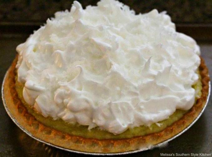 unbaked coconut cream pie