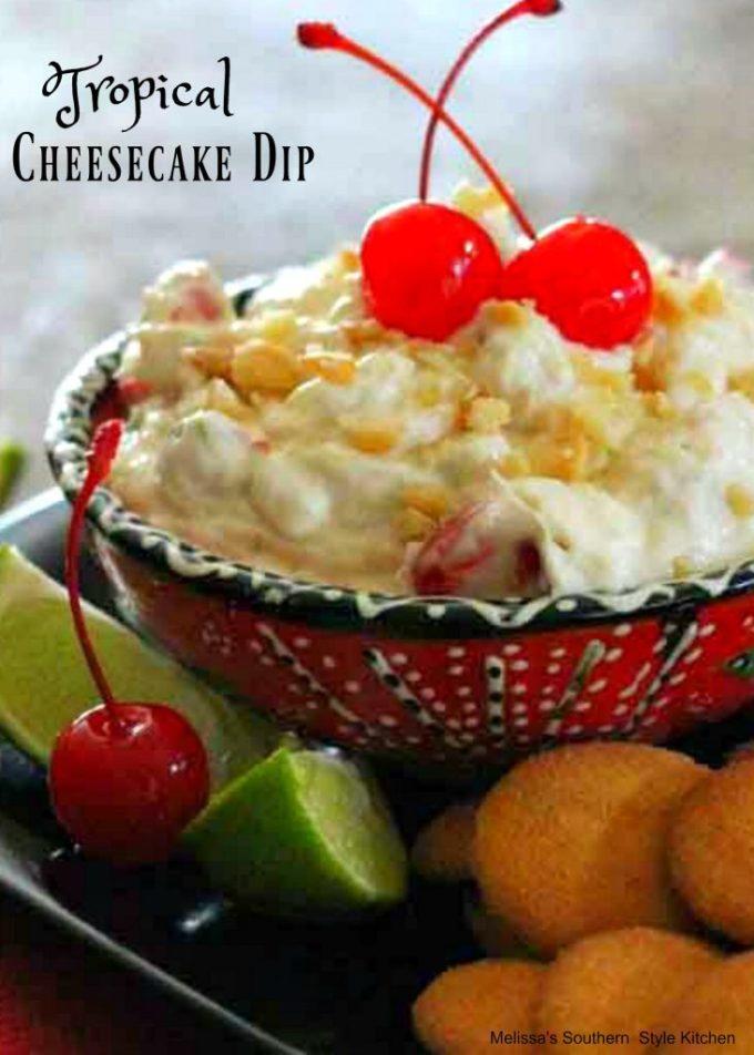Tropical Cheesecake Dip