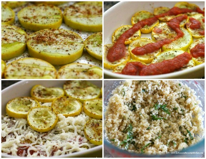 step-by-step images how to prepare squash lasagna dish
