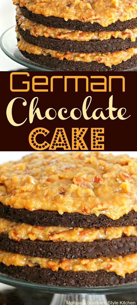 Coconut Pecan Icing And German Chocolate Cake