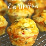 Bacon Spinach Egg Muffins