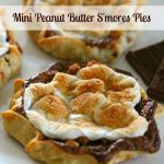 Mini Peanut Butter S'mores Pies