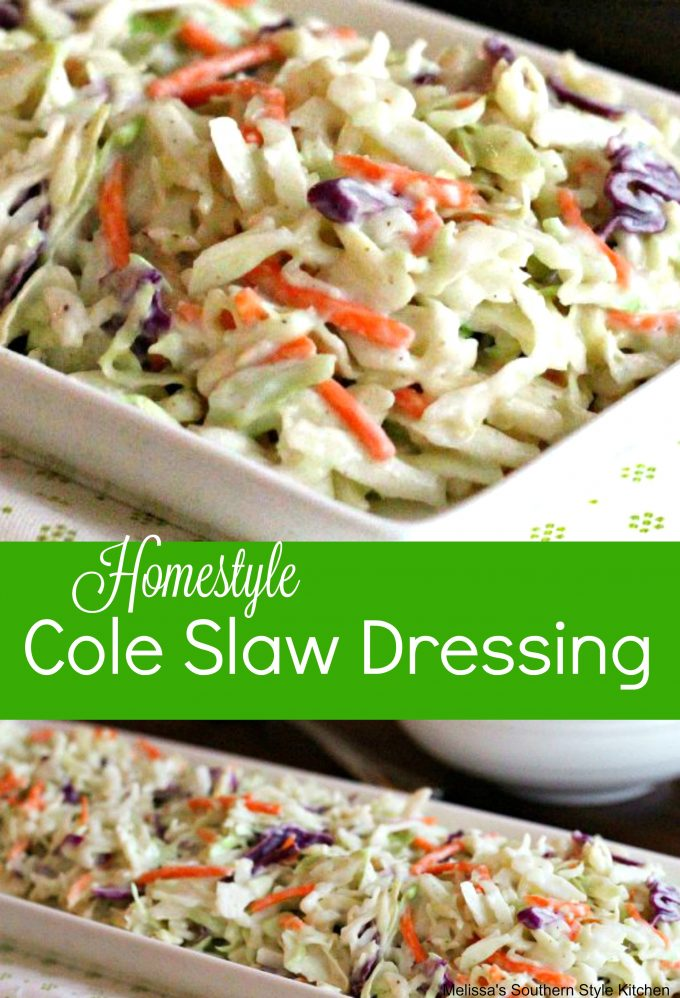 Homestyle Cole Slaw Dressing