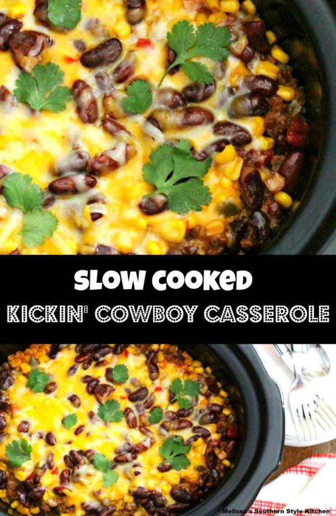 Slow Cooked Kickin' Cowboy Casserole