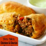 Tex-Mex Chicken And Chorizo Empanadas