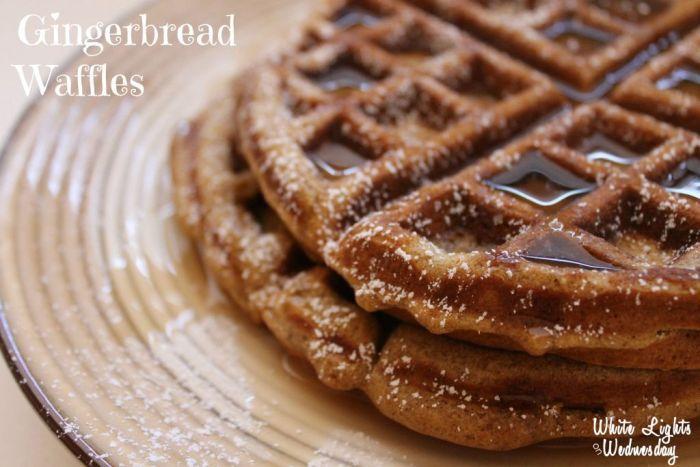 Gingerbread-Waffles