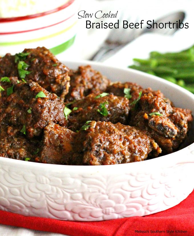 Slow Cooked Braised Beef Short Ribs