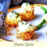 Parmesan Crusted Crab Cake Bites With Chive Aioli