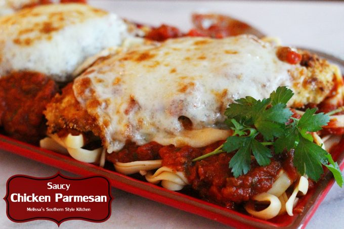 Saucy Chicken Parmesan
