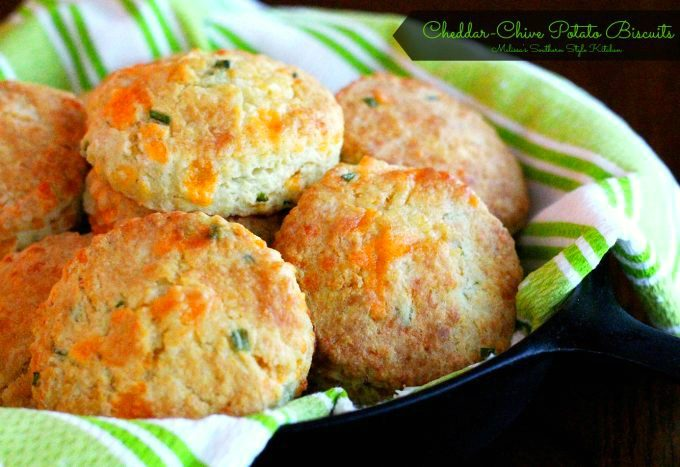 Cheddar Chive Potato Biscuits