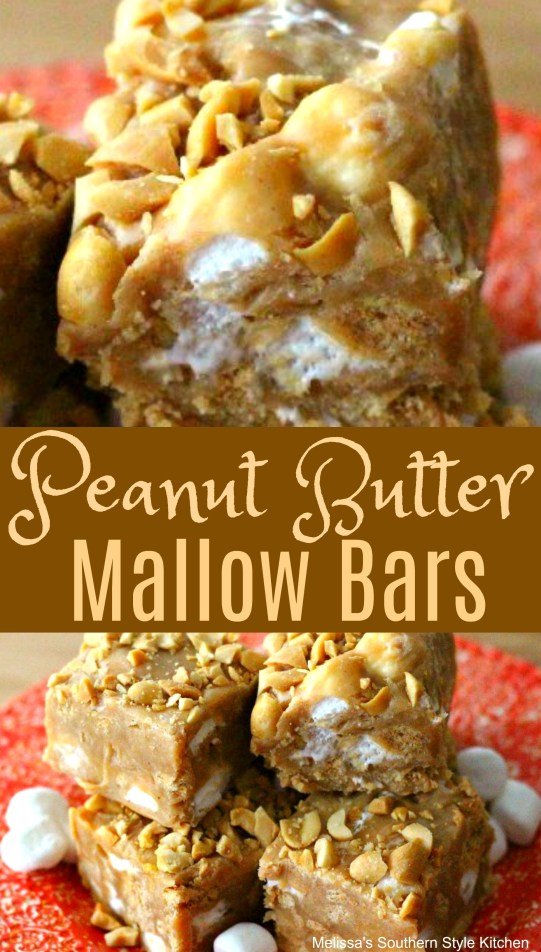 Peanut Butter Mallow Bars