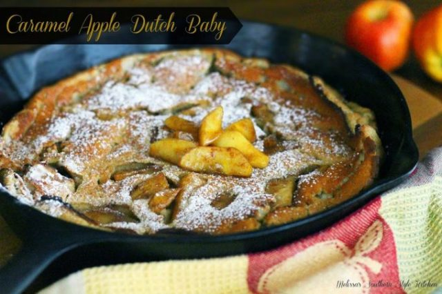 Caramel Apple Dutch Baby