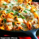 Supreme Pizza Pasta Skillet
