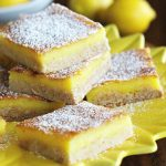 Lemon Chiffon Chess Bars