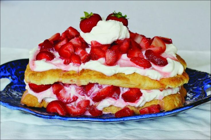 Double Decker Strawberry Shortcake
