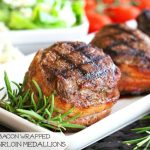 Bacon Wrapped Top Sirloin Medallions