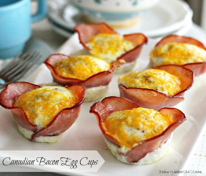 Canadian Bacon Egg Cups