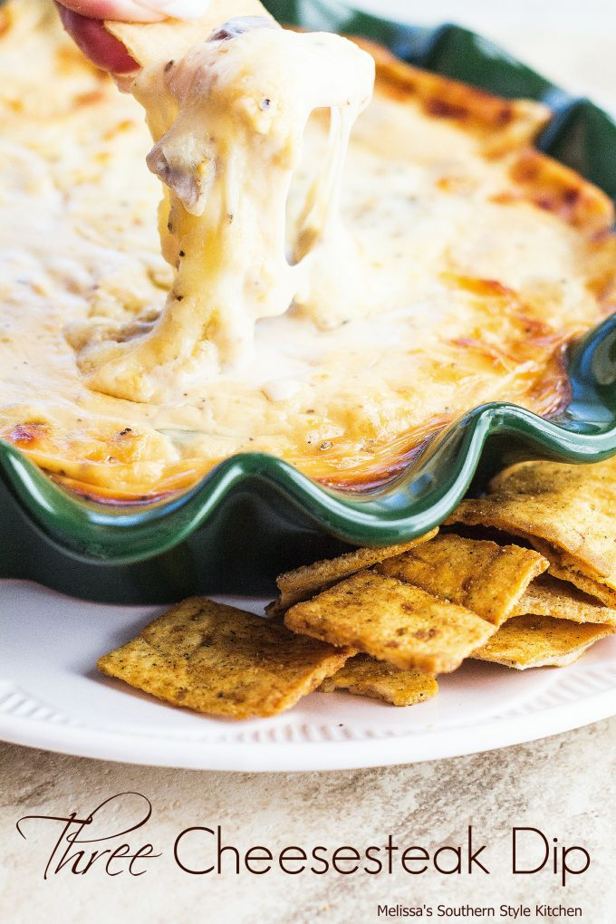 Three Cheesesteak Dip