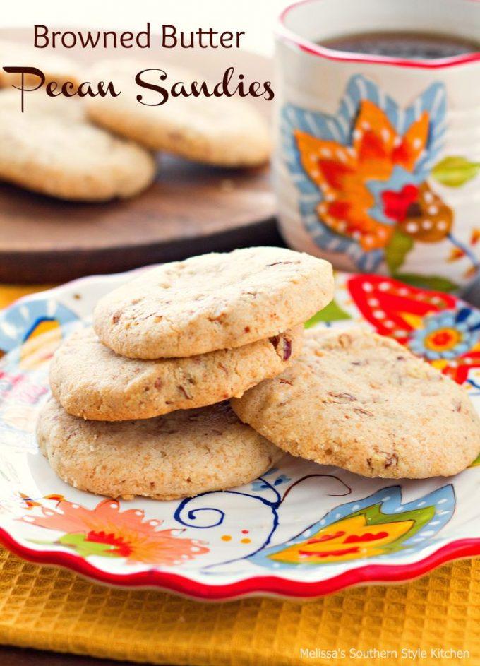 Browned Butter Pecan Sandies