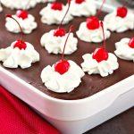 Chocolate-Cherry-Eclair-Cake