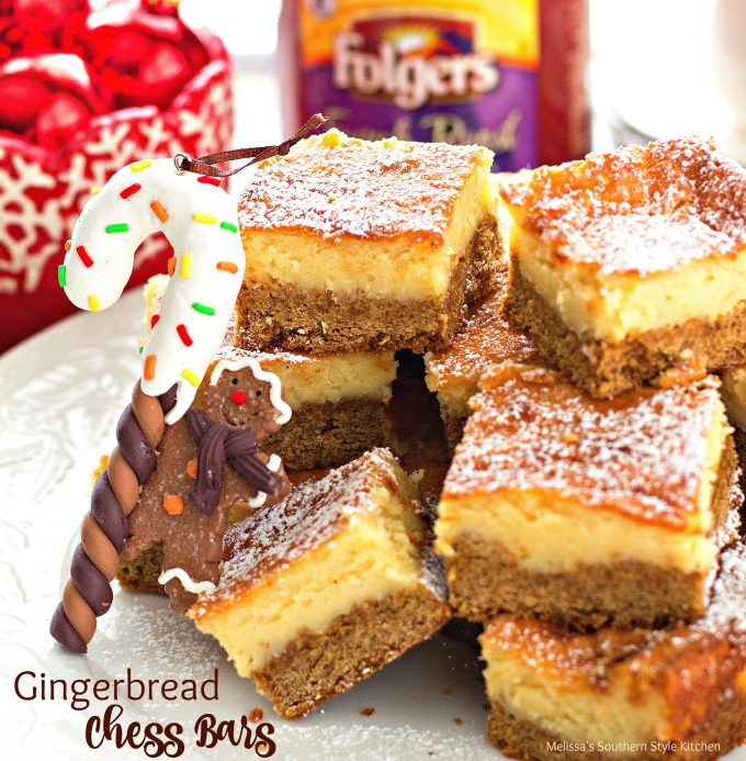 Gingerbread Chess Bars