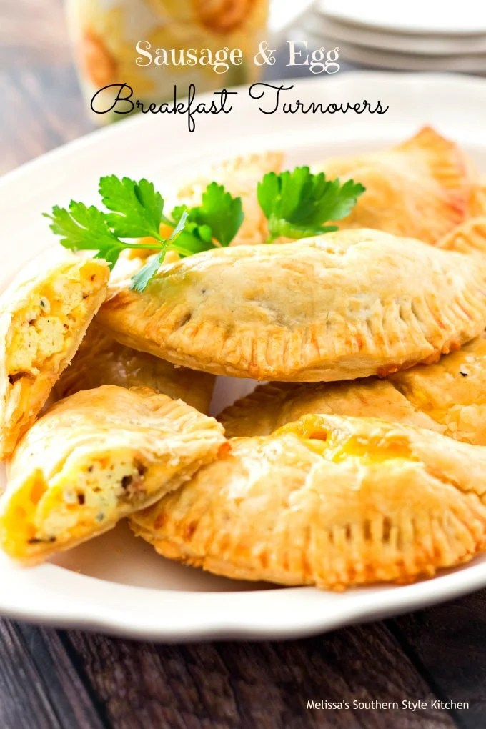 Sausage And Egg Breakfast Turnovers