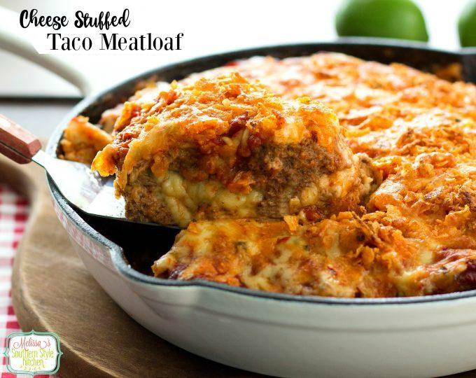 baked meatloaf in a skillet