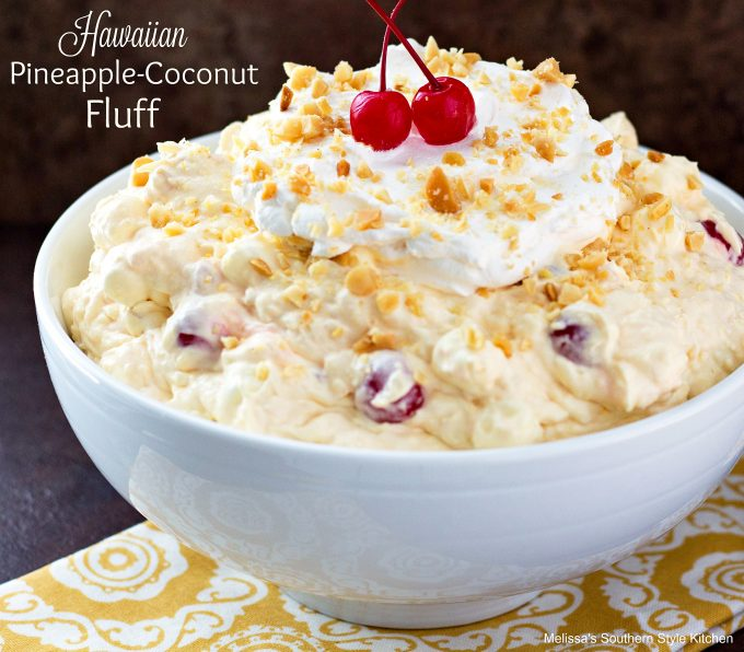 Hawaiian Pineapple Coconut Fluff