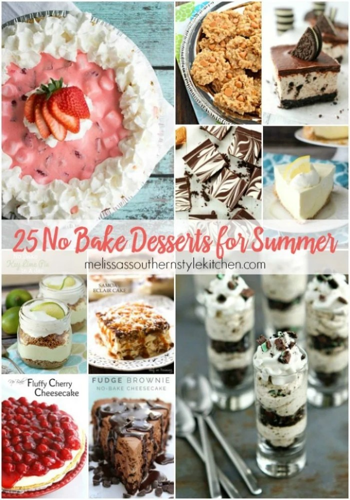 25 No Bake Desserts for Summer HERO