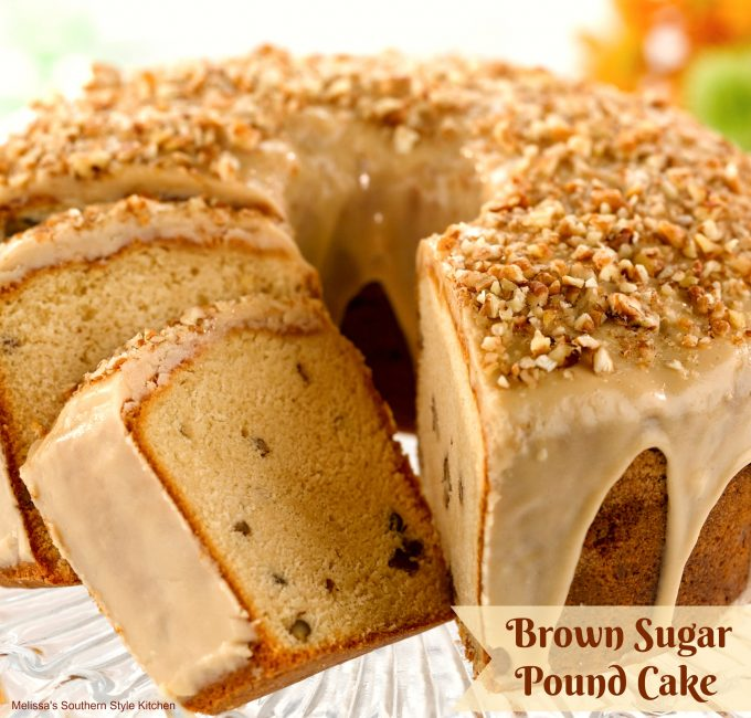 Brown Sugar Pound Cake