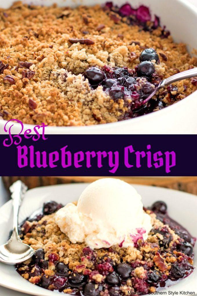 Best Blueberry Crisp