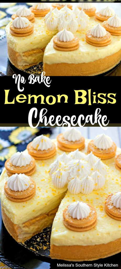 No Bake Lemon Bliss Cheesecake