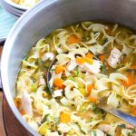 One Pot Chicken Noodle Soup