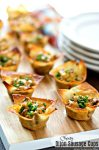 Cheesy Dijon Sausage Cups