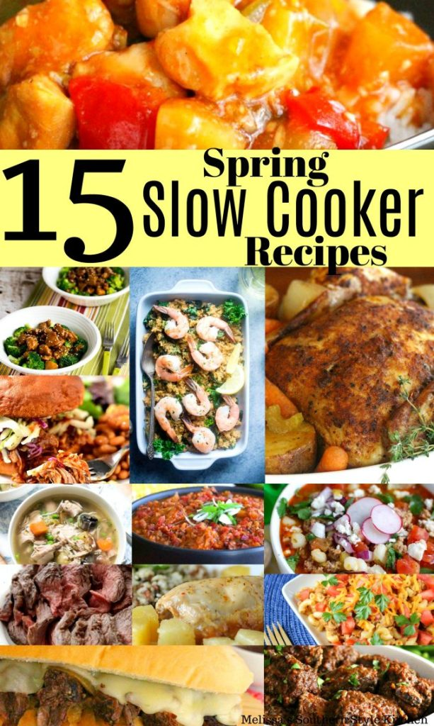 15 Surprisingly Simple Spring Slow Cooker Recipes