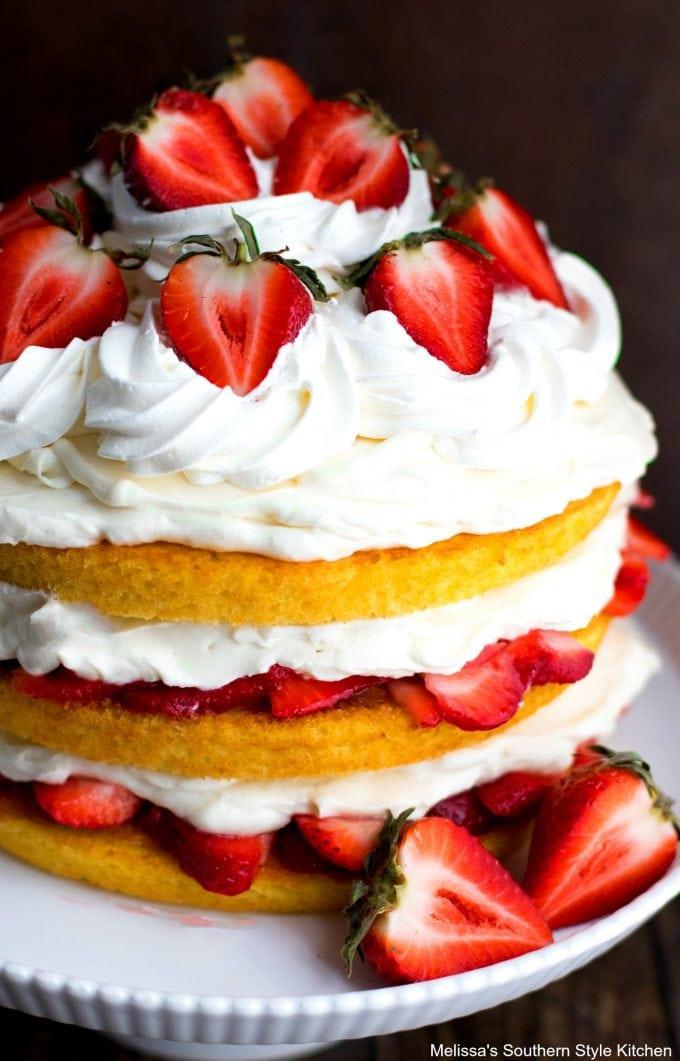 Strawberry Shortcake Layer Cake