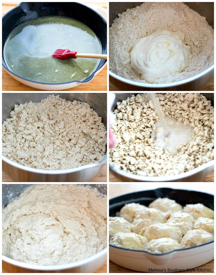 7Up Drop Biscuits step-by-step preparation