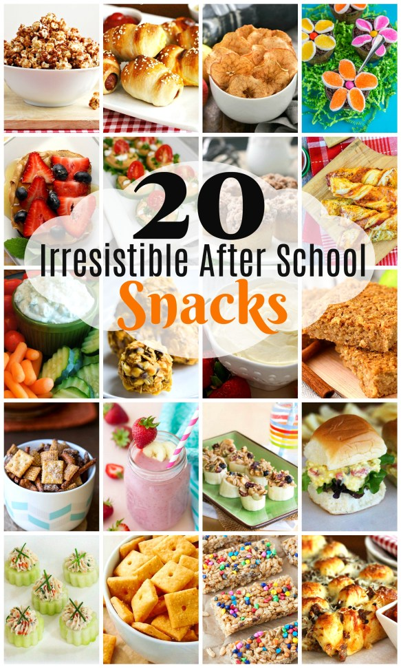 20 Irresistible Back-To-School Snacks