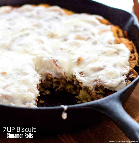 7UP Biscuit Cinnamon Rolls