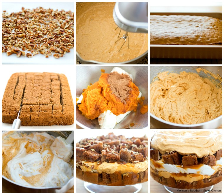 Pumpkin Spice Cheesecake Trifle