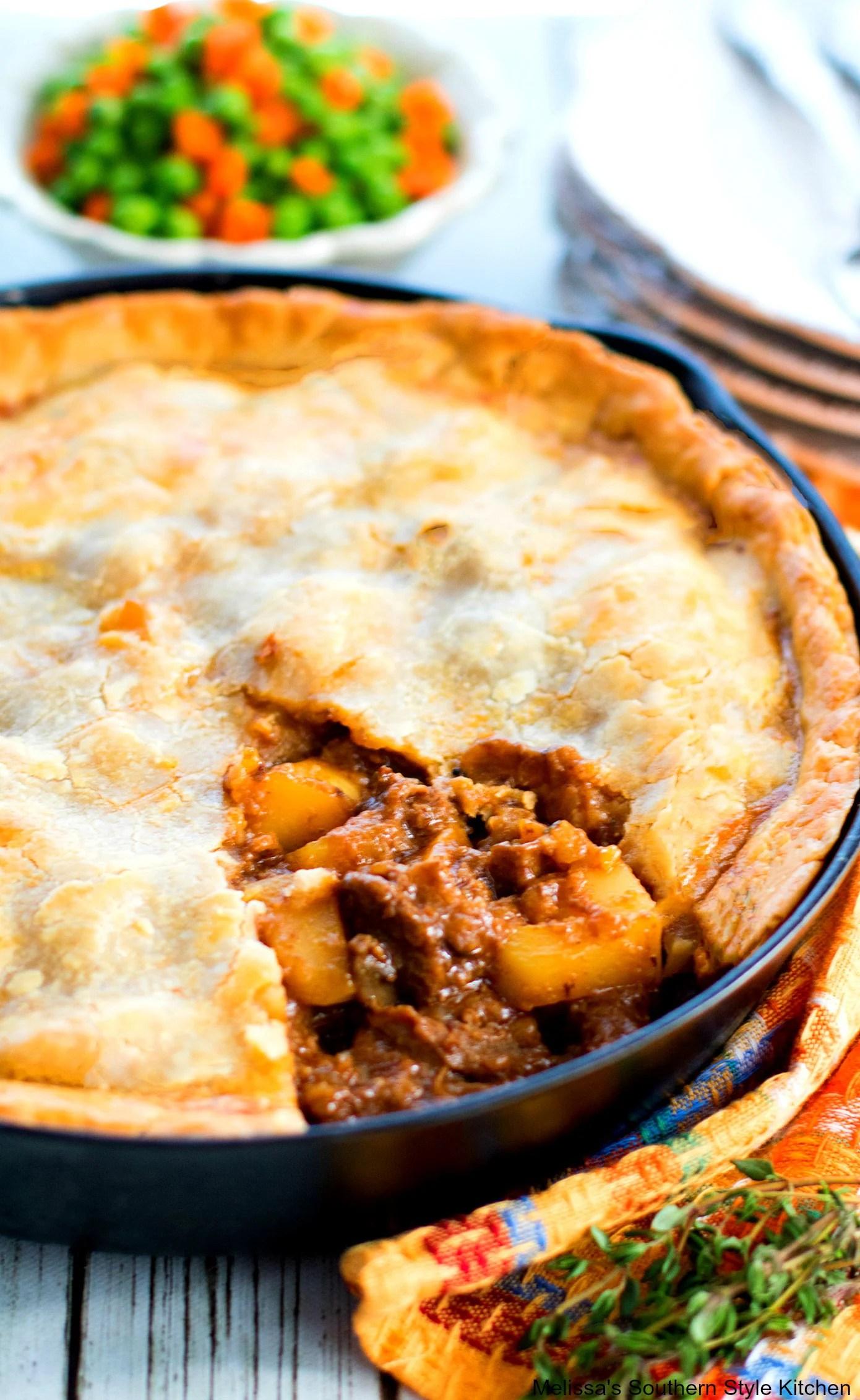 Steak and Potato Pie - melissassouthernstylekitchen.com