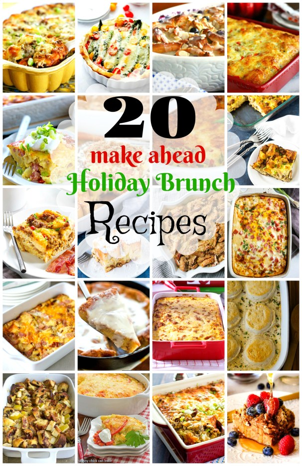 20 Make-Ahead Holiday Brunch Casserole Recipes