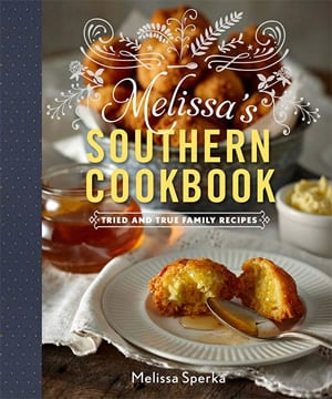 Pick-up a copy of Melissa's Southern Cookbook today