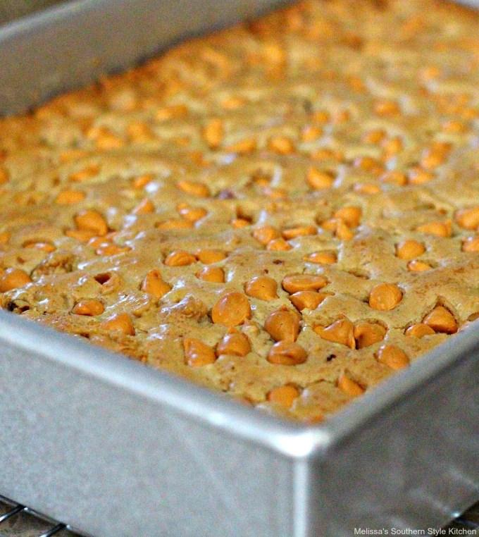 Baked Butterscotch Brownies