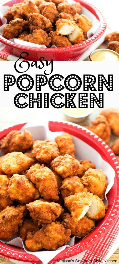 Easy Popcorn Chicken