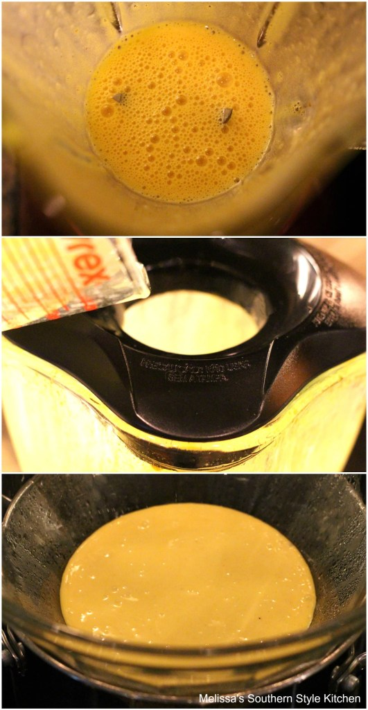 step-by-step pictures how to make hollandaise sauce