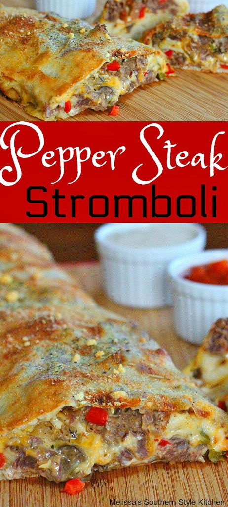 Pepper Steak Stromboli