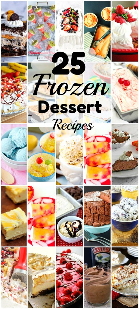 25 Frozen Desserts To Keep You Cool This Summer